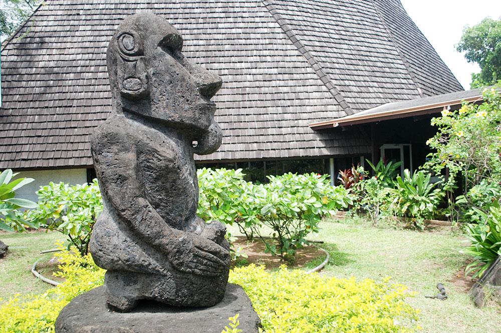 Sculpture tahiti heritage - Office de tourisme tahiti ...