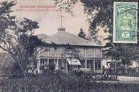 Hôtel du gouvernement ou Palais du Gouverneur à Papeete en 1915. Photo Homes